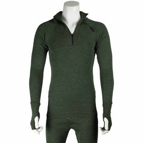ussen norj thermal top neck unzipped