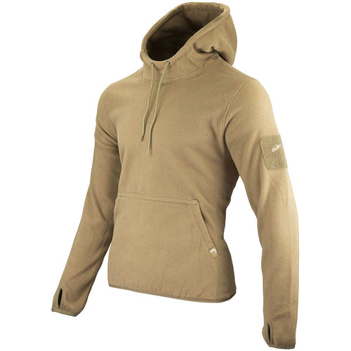 Viper Fleece Hoodie Coyote Hood Down