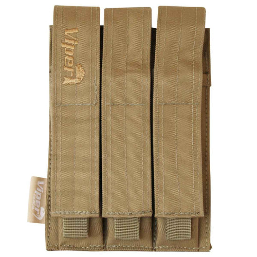 Viper Triple MP5 MOLLE Mag Pouch Coyote