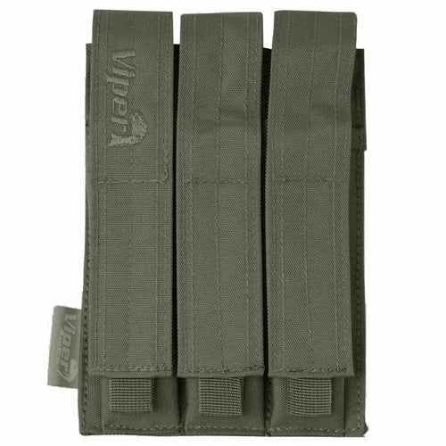 Viper Triple MP5 MOLLE Mag Pouch Green