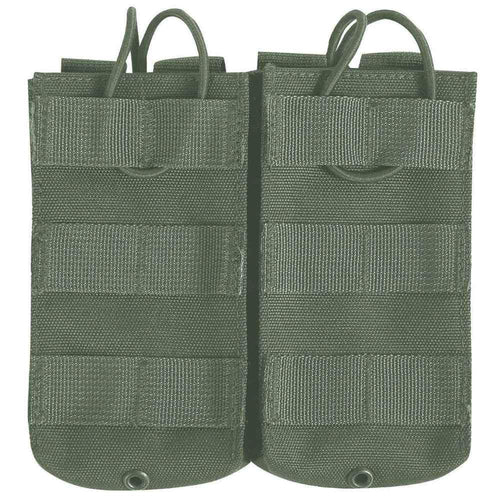 Viper Green Quick Release Double Magazine Pouch