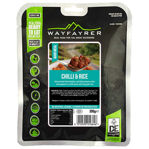 wayfayrer chilli and rice