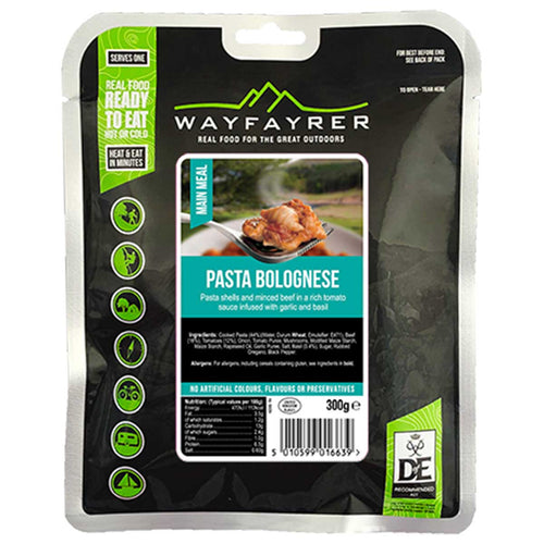 wayfayrer pasta bolognese ready to eat meal