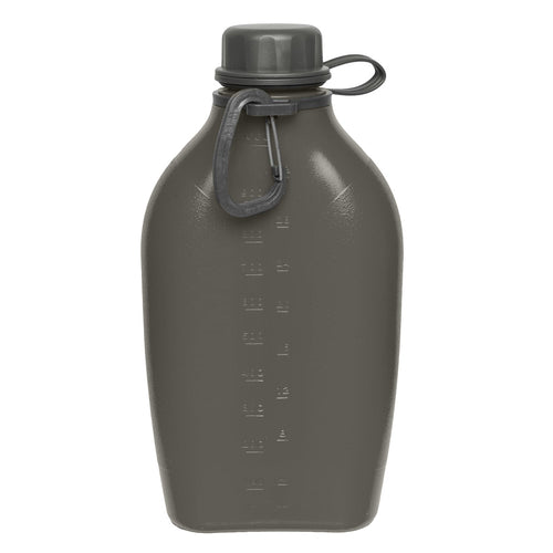 wildo explorer bottle 1l black with karabiner