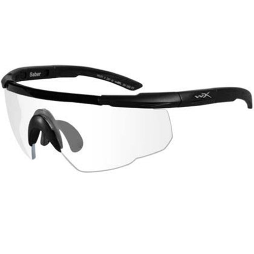 Wiley X Saber Advanced Ballistic Glasses Clear Lens