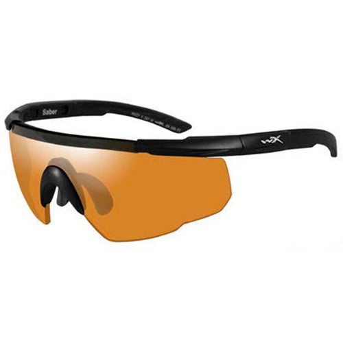 Wiley X Saber Advanced Ballistic Glasses Light Rust Lens