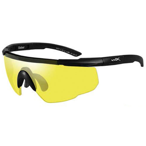 Wiley X Saber Advanced Ballistic Glasses Pale Yellow Lens