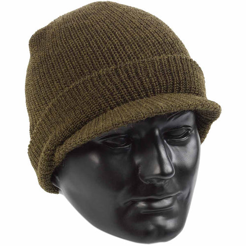olive wool jeep cap