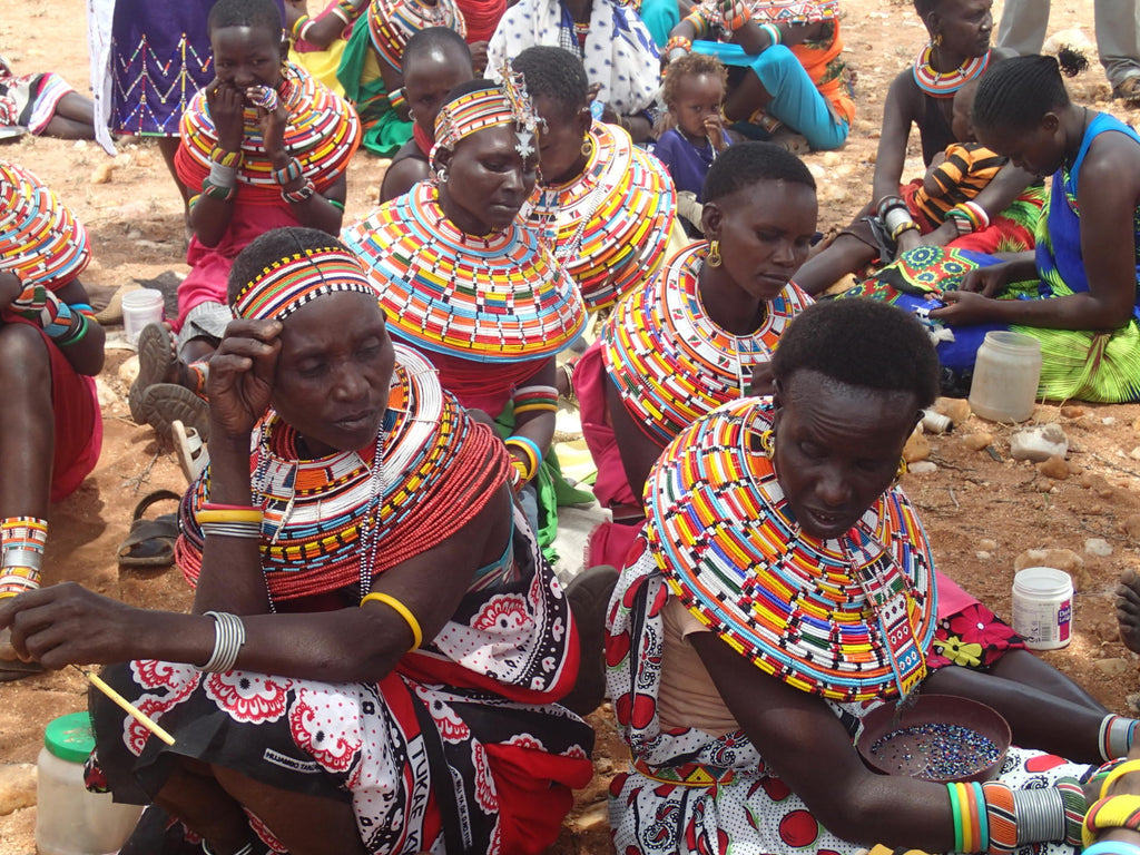 Trip to meet Samburu beaders