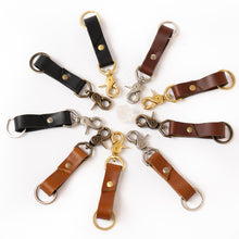 Load image into Gallery viewer, LIGHT BROWN CLIP KEYCHAIN