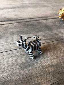 BEADWORKS ANIMAL KEYCHAIN