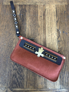 BEADWORKS SUEDE WRISTLET