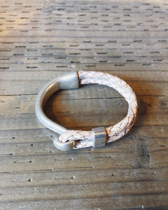 NICKEL HOOK BRACELET