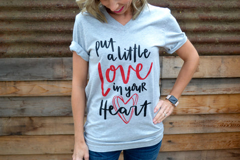 Put a Little LOVE in your Heart (Heather Grey)