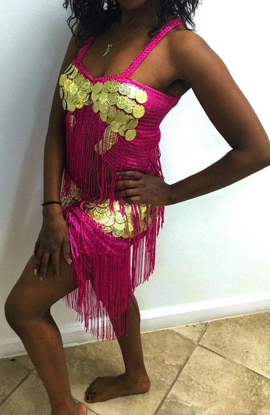 Egyptian Dance or Party Wear with Coins