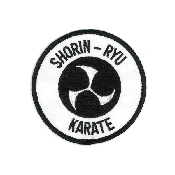 1117 Shorin-Ryu Karate Patch 3.5""
