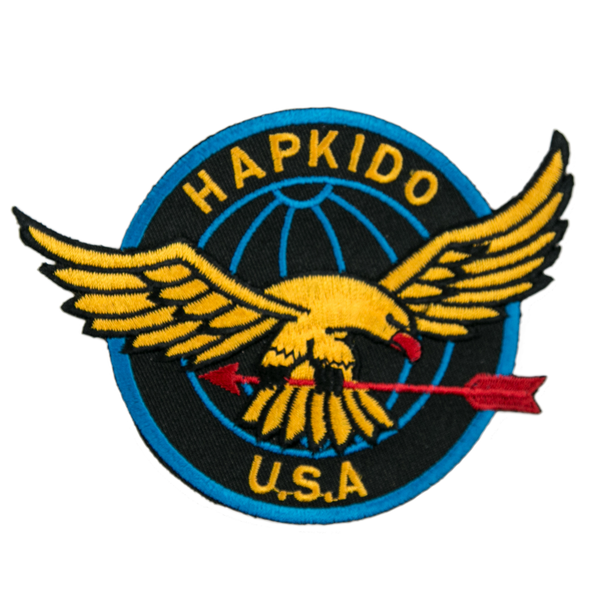 "1126 Hapkido Patch 4.75""W"