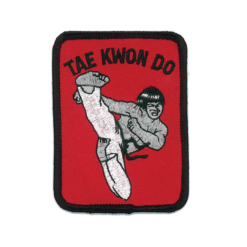 "1129 TKD Patch 3.5""H"