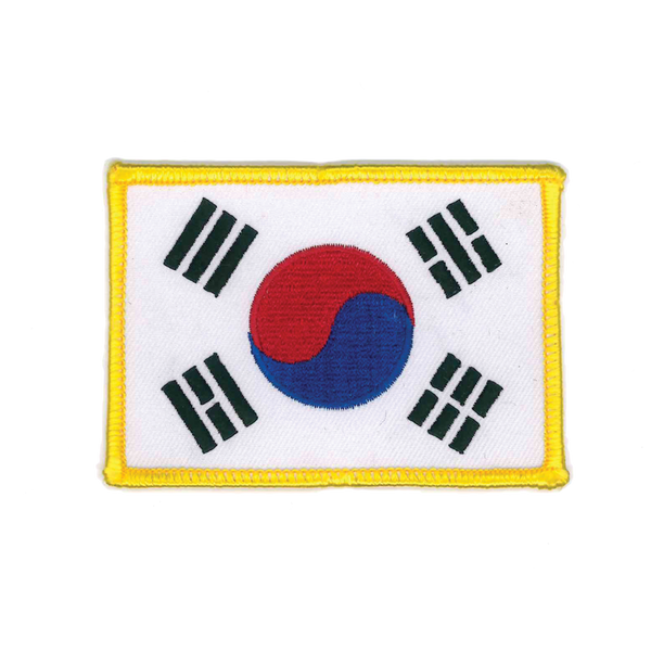 "1133 Korean Flag Patch 2.75""W"