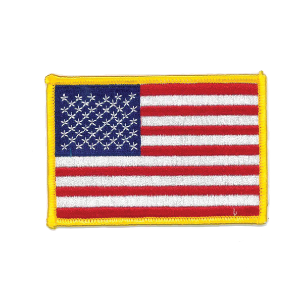 "1134 American Flag Patch 3.5""W"