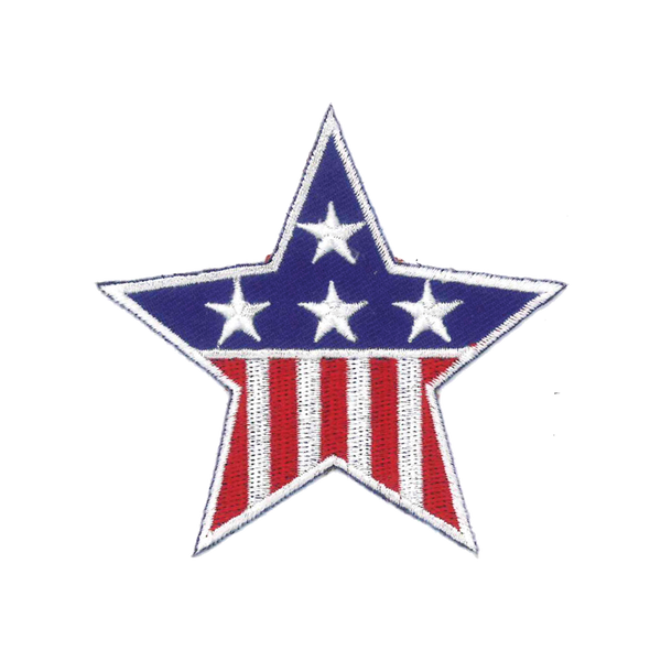 1139 Stars and Stripes Patch 3.25""