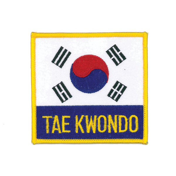 1144 Korean TKD Patch 3.5""