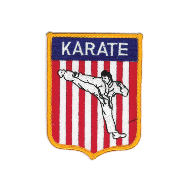 "1149 Karate Patch 4""H"