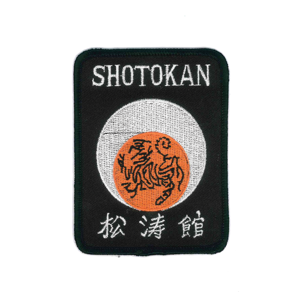 "1154 Shotokan Patch 4""H"