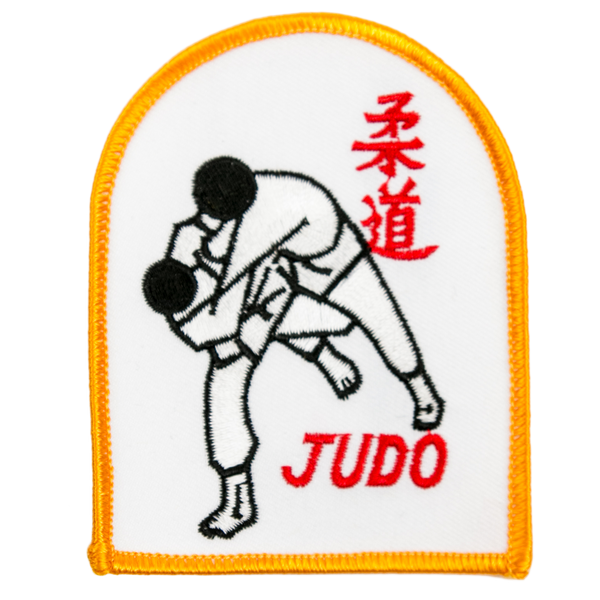"1160 Judo Throw Patch 3.75""H"