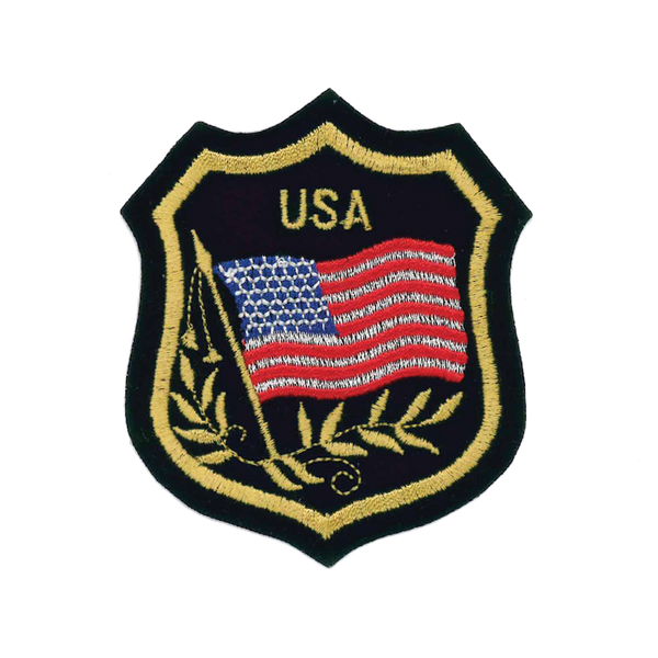 "1161 Flag Patch 3.25""H"