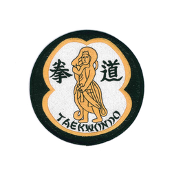 1171 TKD Warrior Patch 4.75""