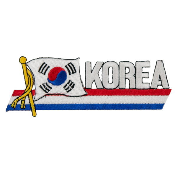 "1180 Korea Patch 4.5""W"