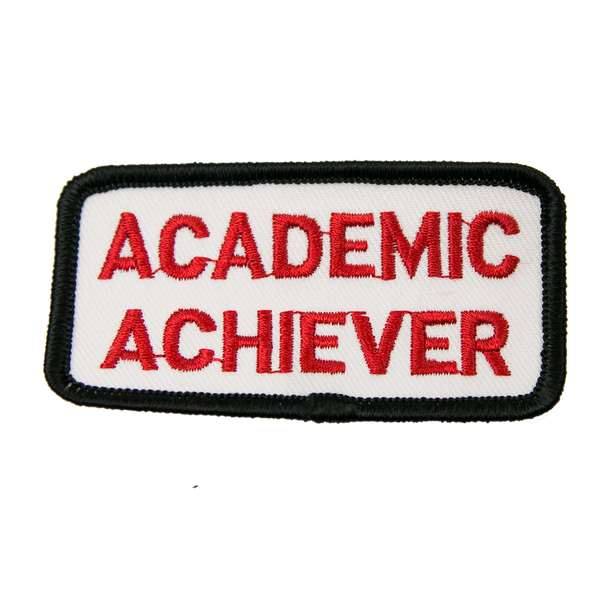 "1187 Academic Achiever Patch 3""W"