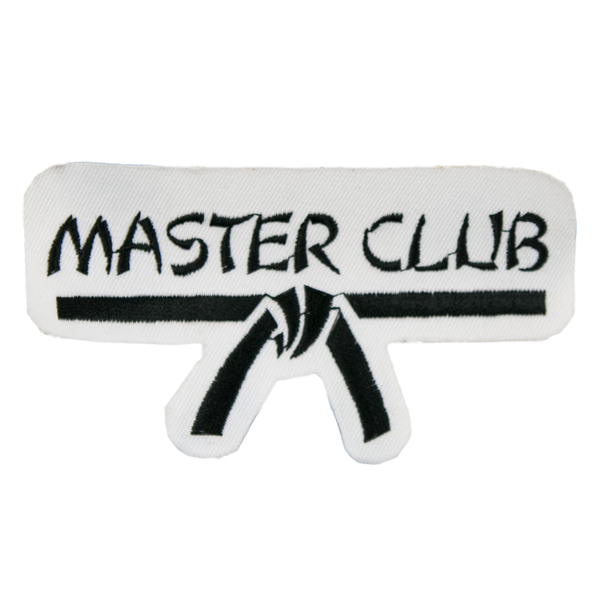"1189 Masters Club Patch 4.5""W"