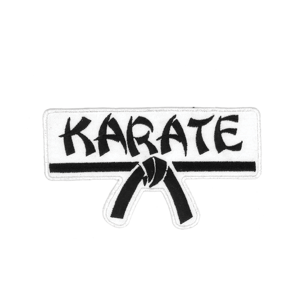 "1191 Karate Belt Patch 4.5""W"