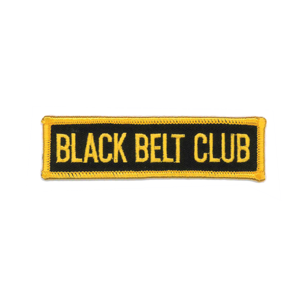 "1195 Black Belt Club 4""W"