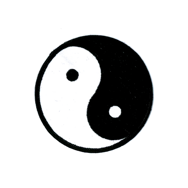 1210 Yin and Yang Patch 3.5""