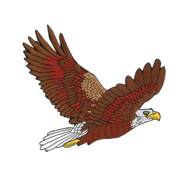 1228 Eagle Patch 9""