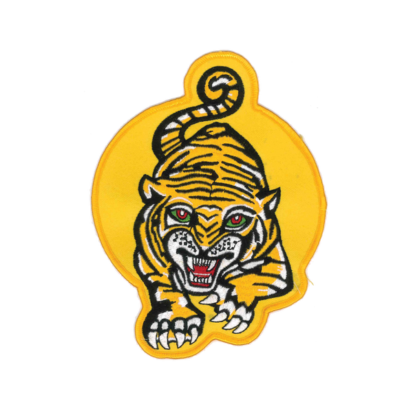 "1237 Tiger Patch 6.5""H"
