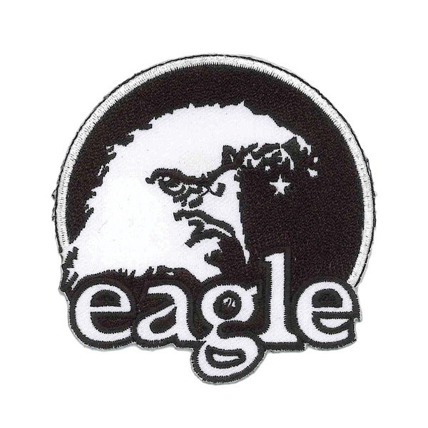 1251 Eagle Head Patch 3""
