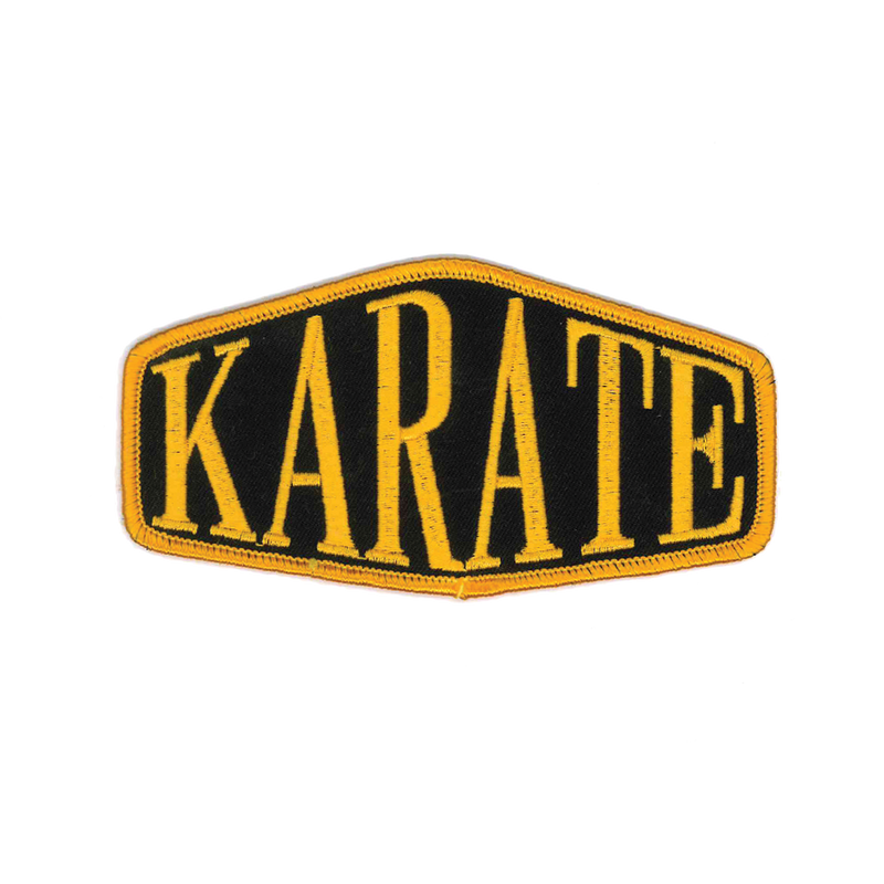"1256 Karate Patch 5""W"