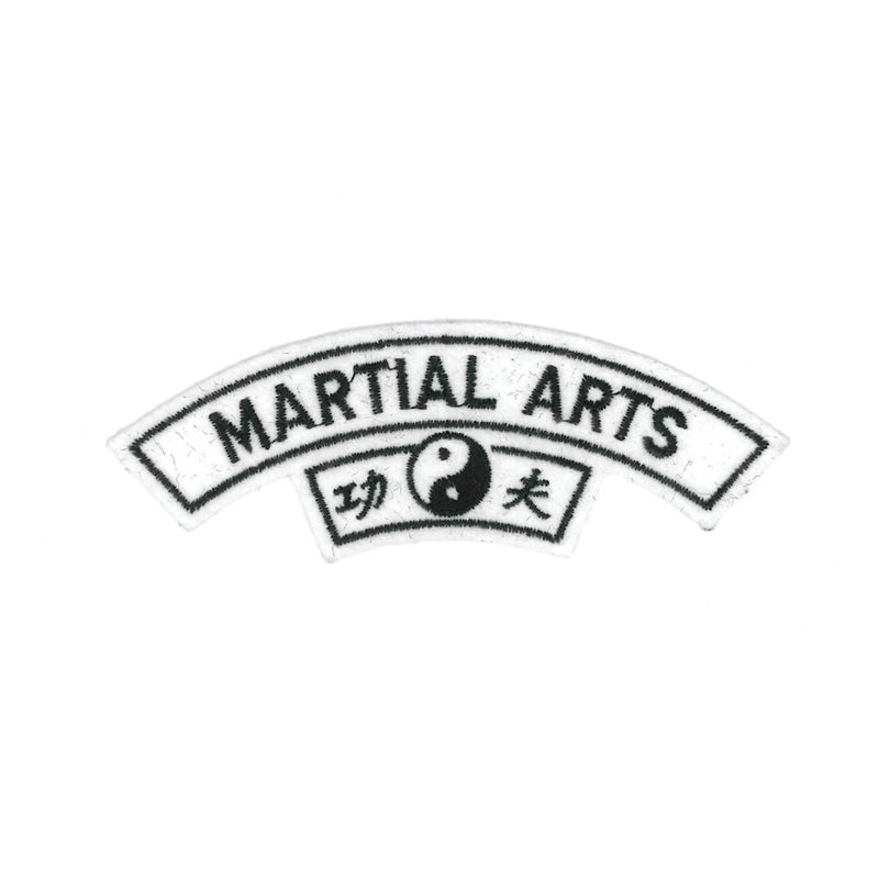 "1266 Martial Arts Patch 5""W"