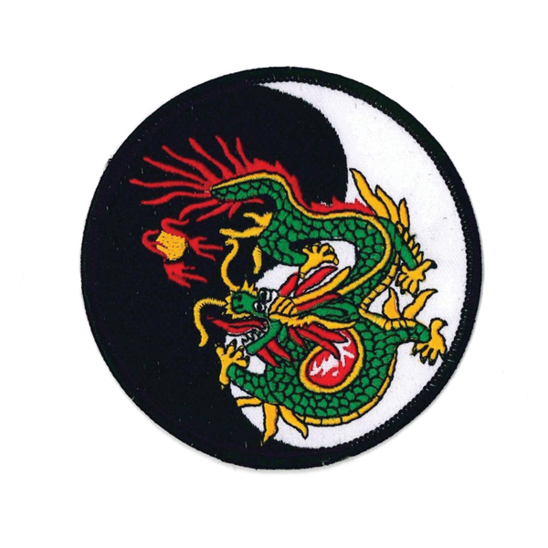 1273 Yin Yang Dragon Patch 4""