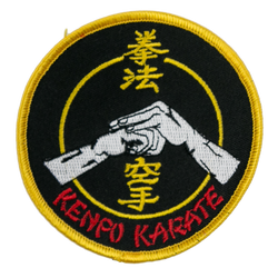 1274 Kenpo Salute Patch 3.5""