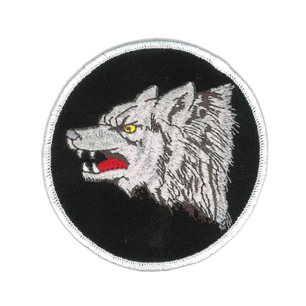 1284 Wolf Patch 3.5""
