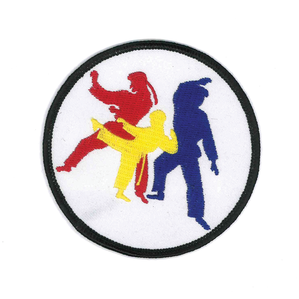 1315 Karate Patch 3.5""