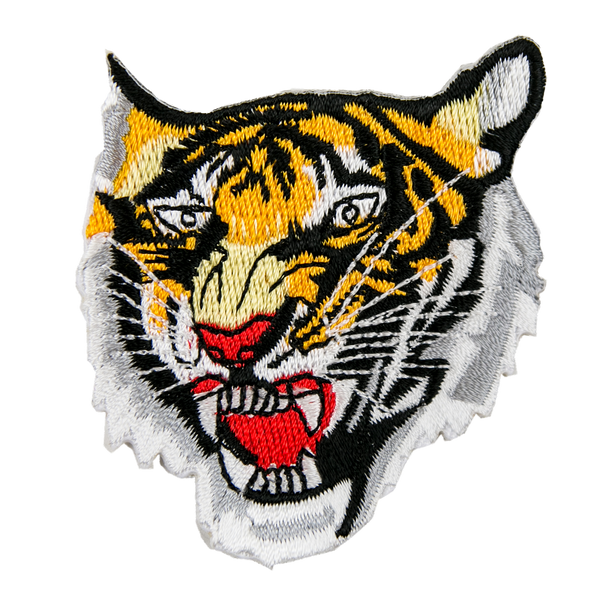 1332 Small Tiger Head Patch 2.5""