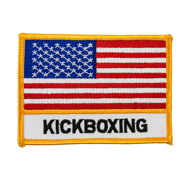 "1338 Kickboxing Patch 4""W"