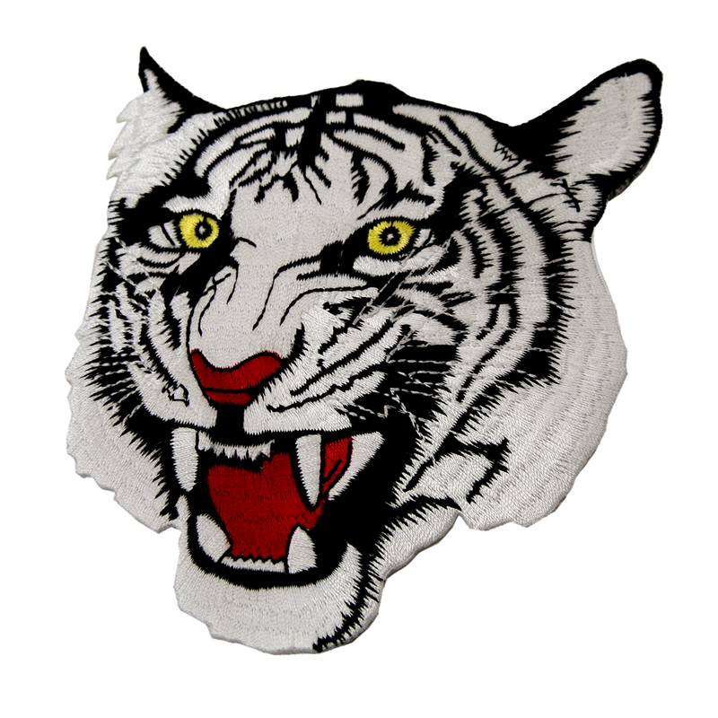 1352 White Tiger Patch 4""
