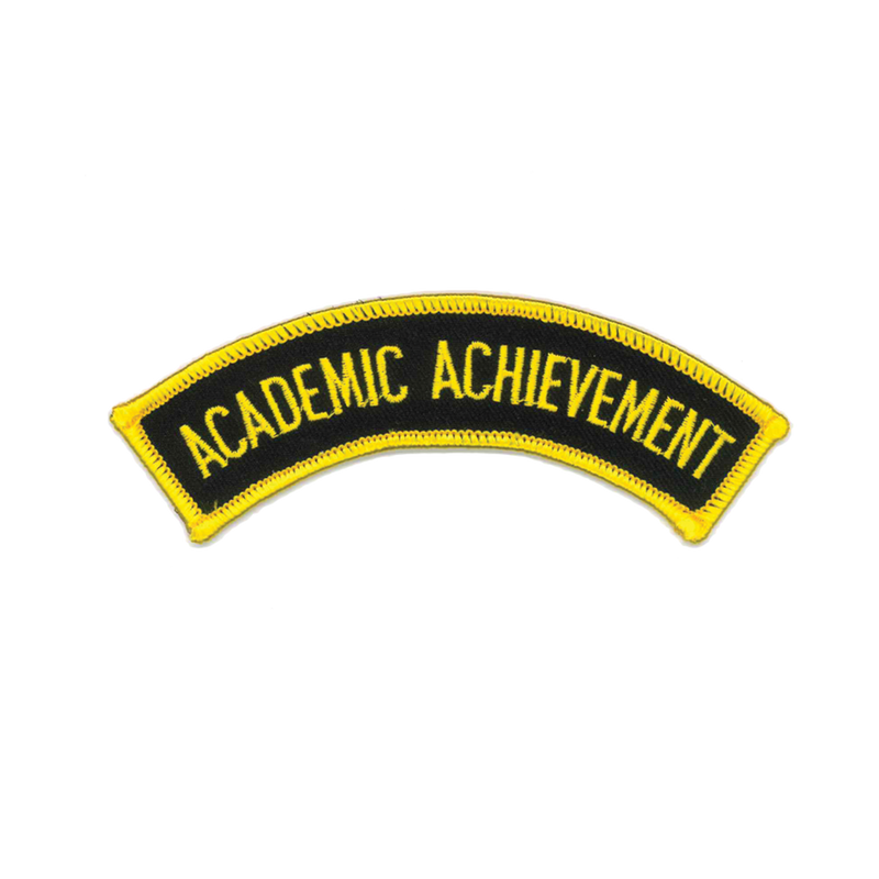 "1353 Academic Achievement Patch 5""W"